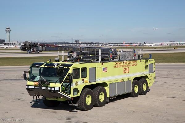 Airport Fire Truck Oshkosh 8x8