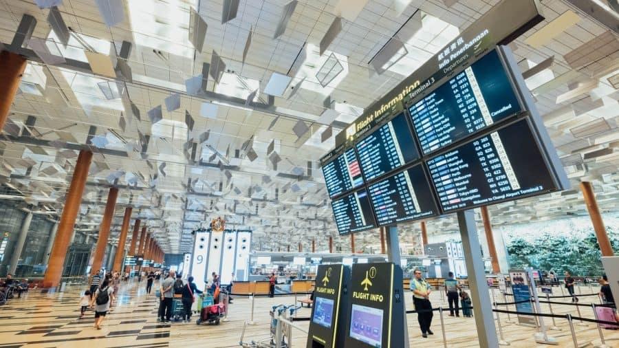 Airport terminal board